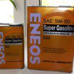 Каким бывает моторное масло Eneos?