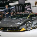 Суперкар Lamborghini Centenario LP 770-4 готовится к премьере
