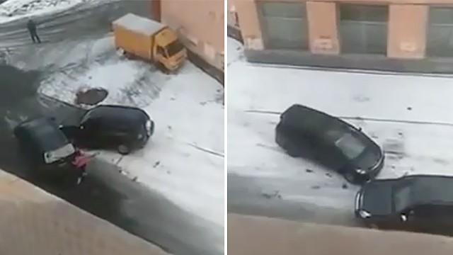 Схватка двух автоледи