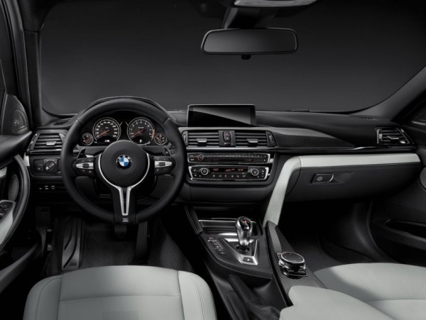 BMW M3 2015 года, салон