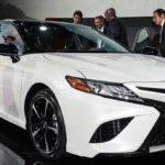 Представлена новая Тойота Камри 2017–2018 для США (фото, цена)