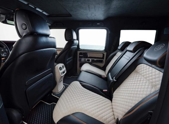 Mercedes G63 AMG фото салона