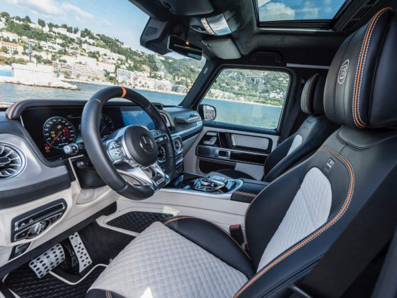 Mercedes G63 AMG фото салона