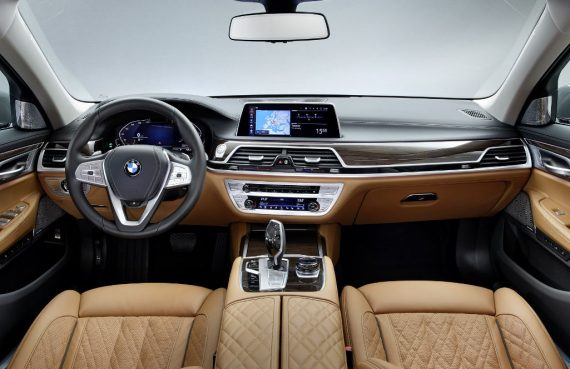 BMW 7-Series фото салона