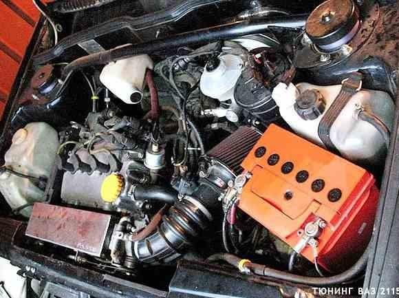 Тюнинг двигателя ВАЗ 2115 фото
