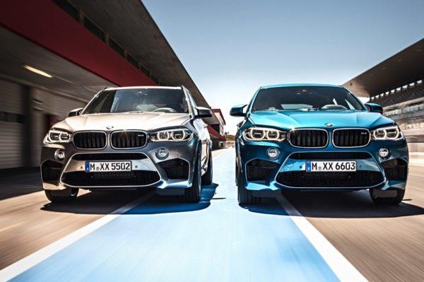 BMW X5 M и Х6 М